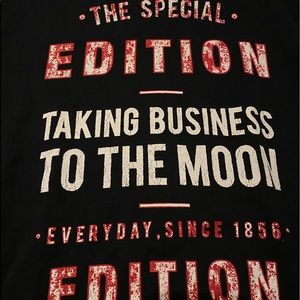 "Zara Sweaters - Zara sweater ""taking business to the moon"""